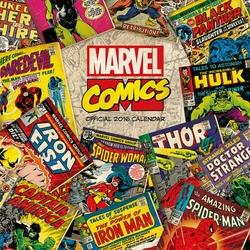Marvel komiksy - kalendarz 2016 r.