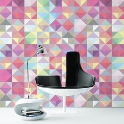 Multicolor abstract - tapeta ścienna , rodzaj - tapeta flizelinowa laminowana