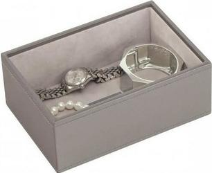 Pudełko na biżuterię open Mini Stackers szaro-beżowe