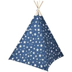 Namiot tipi wigwam dla dzieci domek teepee do ogrodu granatowy