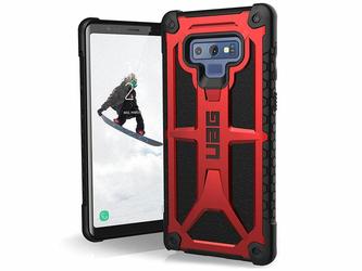 Etui UAG Urban Armor Gear Monarch Samsung Galaxy Note 9 Crimson Red - Czerwony