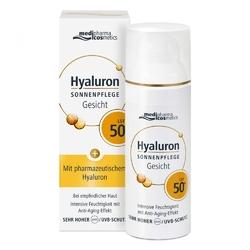 Medipharma hyaluron krem przeciwsłoneczny do twarzy spf50+