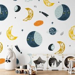 Tapeta dla dzieci - space is here , rodzaj - tapeta flizelinowa laminowana
