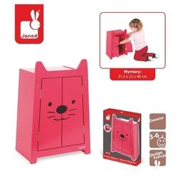 Babycat drewniana szafa dla lalek