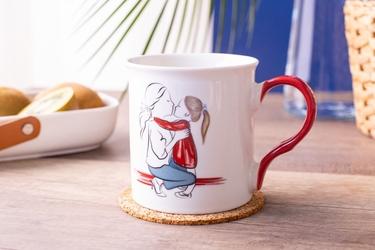Kubek do kawy i herbaty porcelanowy altom design dzień matki 250 ml, dekoracja a