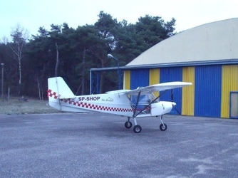 Lot samolotem ultralekkim dla dwojga - toruń