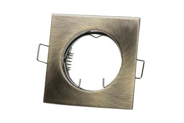 Oprawa halogenowa, stropowa, schodowa res-012 stała kwadrat odlew
