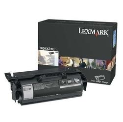 Lexmark oryginalny toner t654x31e, black, 36000s, extra duża pojemność, lexmark t654, kartridż korporacyjny