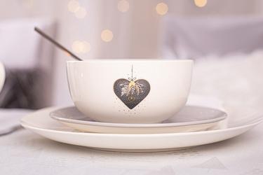 Salaterka  miseczka porcelanowa święta boże narodzenie altom design moja gwiazdka 13 cm, dekoracja serce