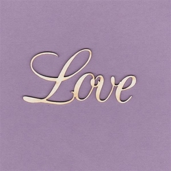 Napis Love - 2 szt. - 02