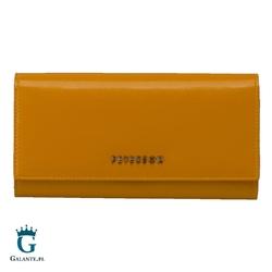 Duży portfel damski w jasnych kolorach peterson pl467 rfid