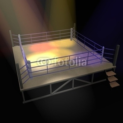 Tapeta ścienna ring bokserski