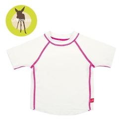 Koszulka t-shirt do pływania white, uv 50+