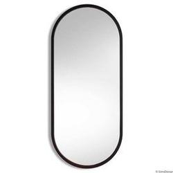 Gieradesign :: lustro ścienne ambient łazienkowe owalne czarne 40x105 cm