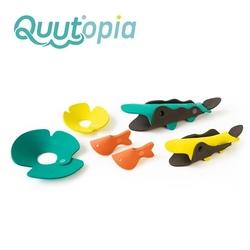 Quut zestaw puzzli piankowych 3d quutopia krokodyle