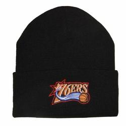 Czapka zimowa Mitchell  Ness NBA Philadelphia 76ers Team Tone Knit - PHIL76 INTL534