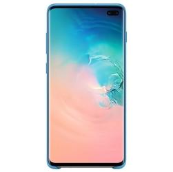 Samsung Etui Silicone Cover Galaxy S10+ niebieskie