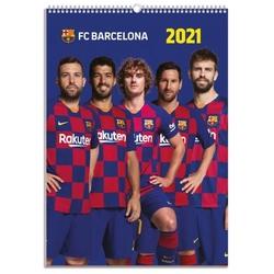 Fc barcelona - kalendarz a3 na 2021 rok