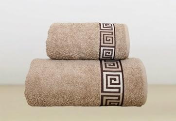 Ręcznik DUNAJ Greno beżowy - beżowy