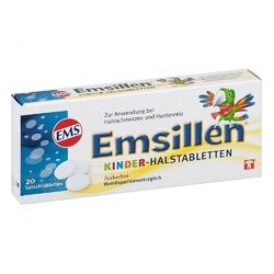 Emsillen tabletki dla dzieci i gardło
