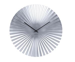 Karlsson :: Zegar ścienny Sensu srebrny Ø50cm - srebrny