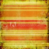 Obraz na płótnie canvas trzyczęściowy tryptyk rocznika pomarańczowym tle