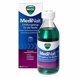 Wick MediNait Syrop na przeziębienie na noc