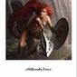 Ruda wojowniczka - plakat premium