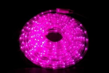Wąż świetlny 480 led 20 m, różowy