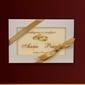 Czekoladki anna i paweł kartka ślubna