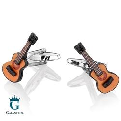 Spinki do mankietów gitary akustyczne ue-26100
