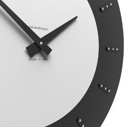 Zegar ścienny vivyan swarovski calleadesign biały 10-210-1