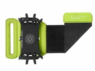 Etui opaska sportowa armband VUP+ na ramię do biegania Zielone - Zielony