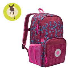 Lassig Plecak szkolny z termoizolacyjną kieszenią Blossy pink.