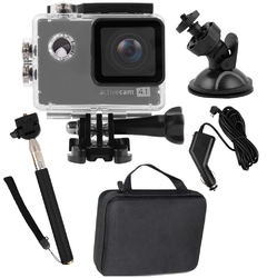 Kamera sportowa OVERMAX ACTIVECAM 4.1 4K WI-FI + WALIZKA
