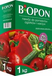 Biopon, nawóz granulowany do pomidorów ogórków, 1kg