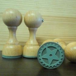 Stempel gumowy 25 mm - KOŁO ZĘBATE - KOZE