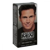 Just for men szampon koloryzujący czarny