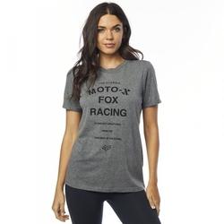 Fox t-shirt lady darkside heather graphite