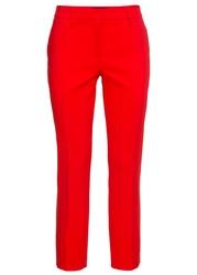 Spodnie biznesowe 78 bonprix truskawkowy