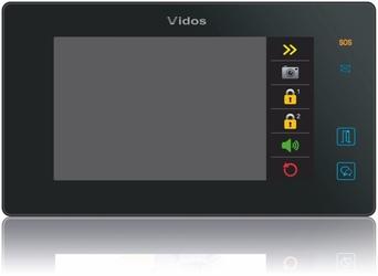 Wideodomofon vidos duo m1021b  s1201a - możliwość montażu - zadzwoń: 34 333 57 04 - 37 sklepów w całej polsce