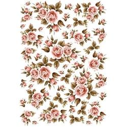 Papier ryżowy ITD A4 R033 róże
