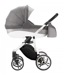 Wózek Bebetto Holland 4w1 BRITAX RÖMER BABY-SAFE2 + BAZA ISOFIX BABY-SAFE I-SIZE