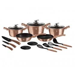 Berlinger haus zestaw garnków, patelni i akcesoriów kuchennych, 17