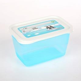 Pojemnik do przechowywania żywności mia polar prostokątny, zestaw 4 pojemników 4 x 0,75l