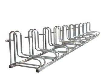 Stojak na rowery elka - 7 miejsc  rowerowych ocynk elka stojak 7-miejscowy