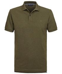 Męska koszulka polo profuomo w zielony melanż 43