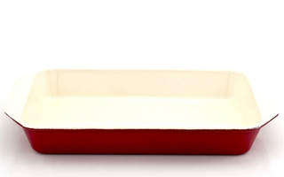 Brytfanna żeliwna emaliowana chasseur 2l wiśniowa 3503-03