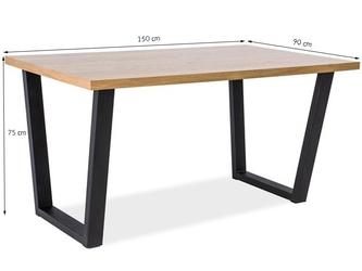 Stół do jadalni taro m 150x90 cm dąb sonoma