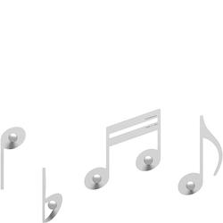 Wieszaki ścienne Rossini CalleaDesign białe 51-13-2-1
